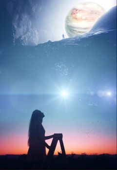 lookingup endless infinite wonder imagination