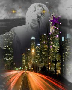 city sparkling freetoedit