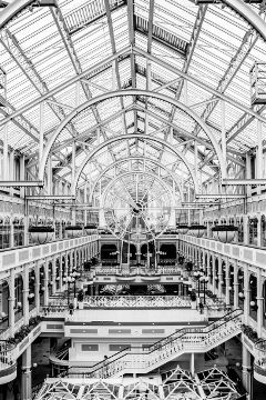 vintage mall blackandwhite freetoedit