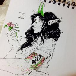 inktober draw drawing art oc