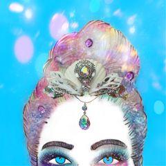 freetoedit glittermakeup bokeh hologram sparkle