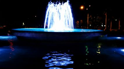 freetoedit coloured lights water fountain