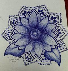 sunflower quickdoodle art inktober doodle