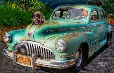 arnoldschwarzenegger car skull etc