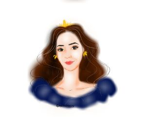 freetoedit draw cute queen beautiful