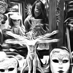 selfie venice magical shop bnw_captures