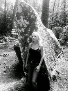 blackandwhite pa selfie nature woods