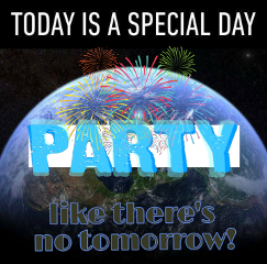 freetoedit earth party fireworks partystickerremix
