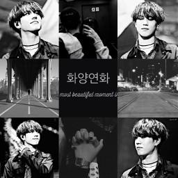 got7 kimyugyeom aesthetic moodboard black