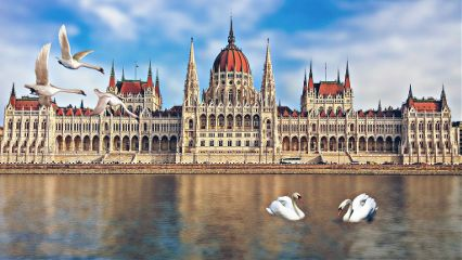 freetoedit budapest building architecture lake