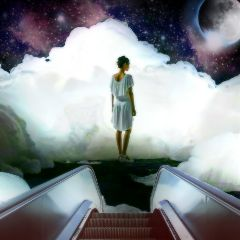 clouds stairway hope escalatorremix remixit freetoedit
