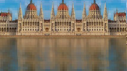 freetoedit pixel budapest castle remix