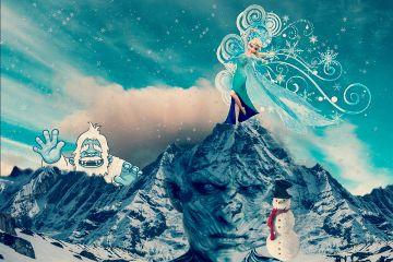 freetoedit mountainremix frozen winteriscoming yeti