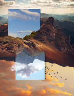 freetoedit upsidedown surreal surreallandscape surrealistgate