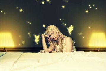 freetoedit girl night sleeping dreams