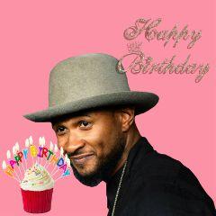 freetoedit usher happybirthday velvetcupcake