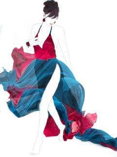 freetoedit fabricstickerremix remixit woman dress