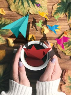 freetoedit papers origami shadows realistic