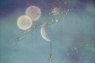 freetoedit moon spider web stars