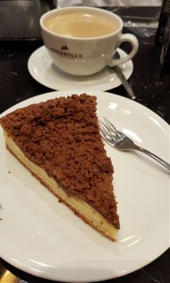 coffee cake break yummy cafe