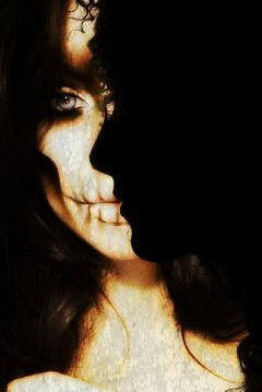 darkart blackandwhite halloween freetoedit