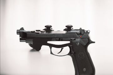 gaming gun control black