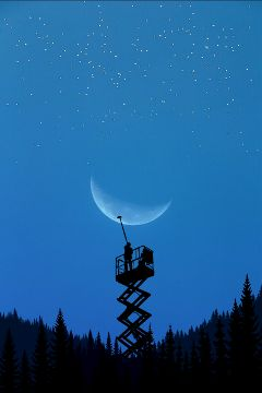 freetoedit moon cleaner sky nature