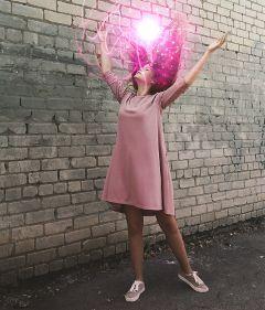 freetoedit woman hair orb lights