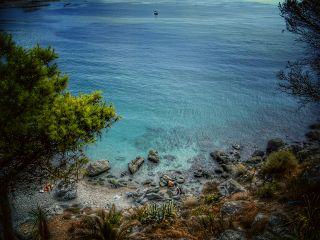 beach sea mediterranean hdr myphoto