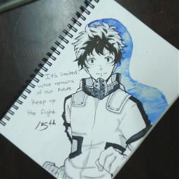 freetoedit amazarashi soraniutaeba deku anime animeboy