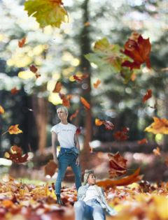 minipeople season seasons autumn fall day freetoedit