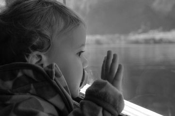 emotions sea blackandwhite baby people