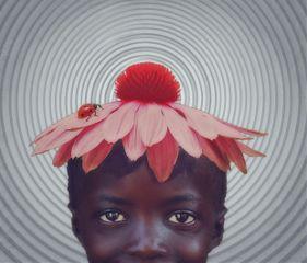 myedit flower flowerhat hat african freetoedit