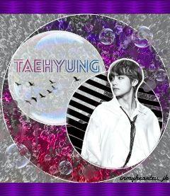 taehyung taetae heart wings art freetoedit