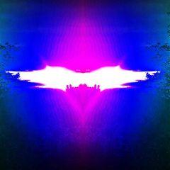 freetoedit trippy sunset batmansign