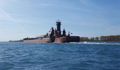 freetoedit freighters greatlakes themitten tug/barge