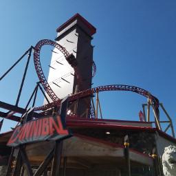 cannibal rollercoaster amusementpark utah amazing