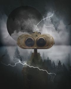 freetoedit dark forest binocularremix