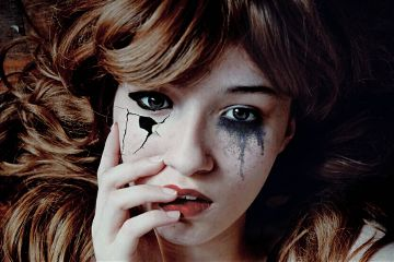 freetoedit dark halloween scary halloweenmakeup