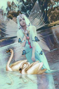 womanportrait fairy fantasyart myedit magicselfie freetoedit