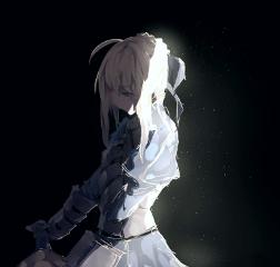 animegirl blackscenegirl digital art sorrowful