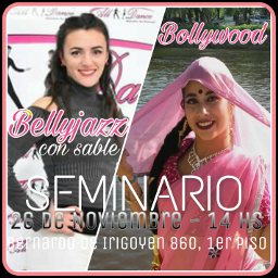 seminario bollywood bellyjazz