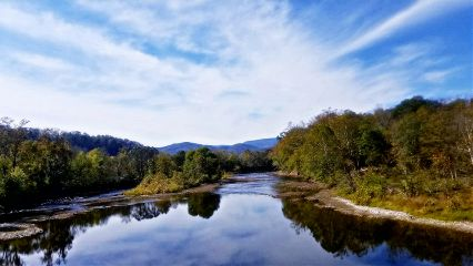 photgraphy mountains sky river travel freetoedit