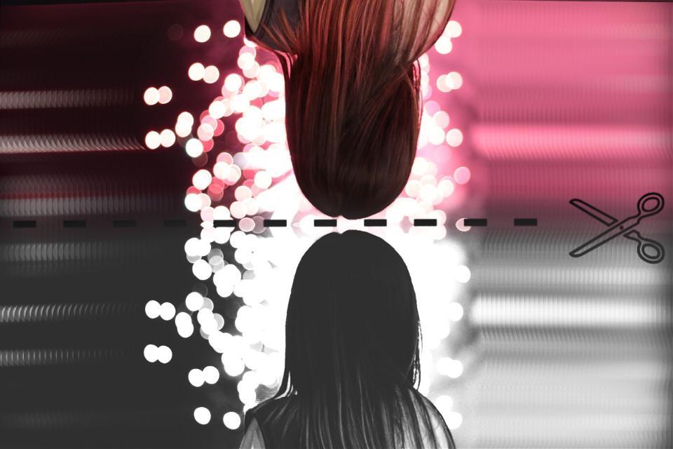 🎆 #bokeh #simple #contrast #pa #remixit #pink #motioneffect #blackandwhitelowcon