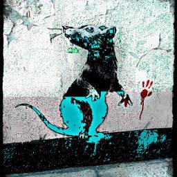 banksy streetart graffiti remix