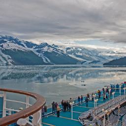 landscape travel alaska glacier cruise