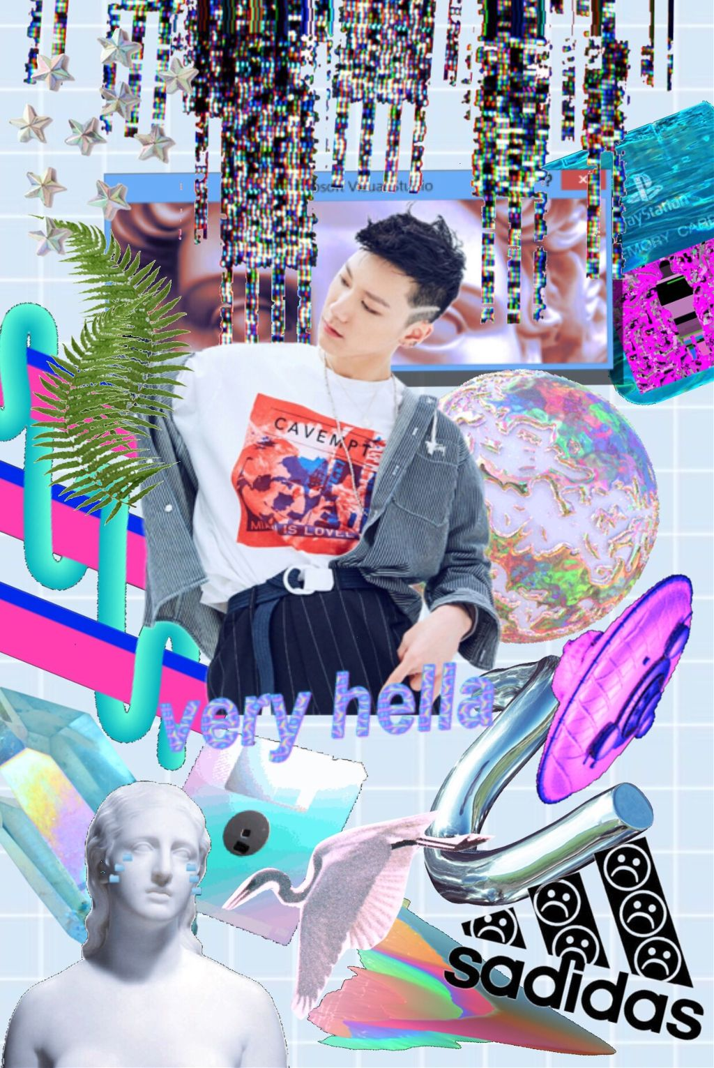 Nct Ten edit i haven't posted in a while, (almost a year ??) because i've been so caught up in life's events. i hope this vaporwave-type edit of ten makes up for it :) will be editing and posting more often now