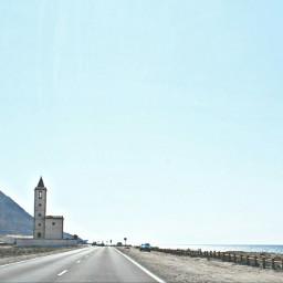 almeria spain beach lanscapes