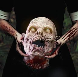 readyforhalloween happyhalloween myedit zombie freetoedit