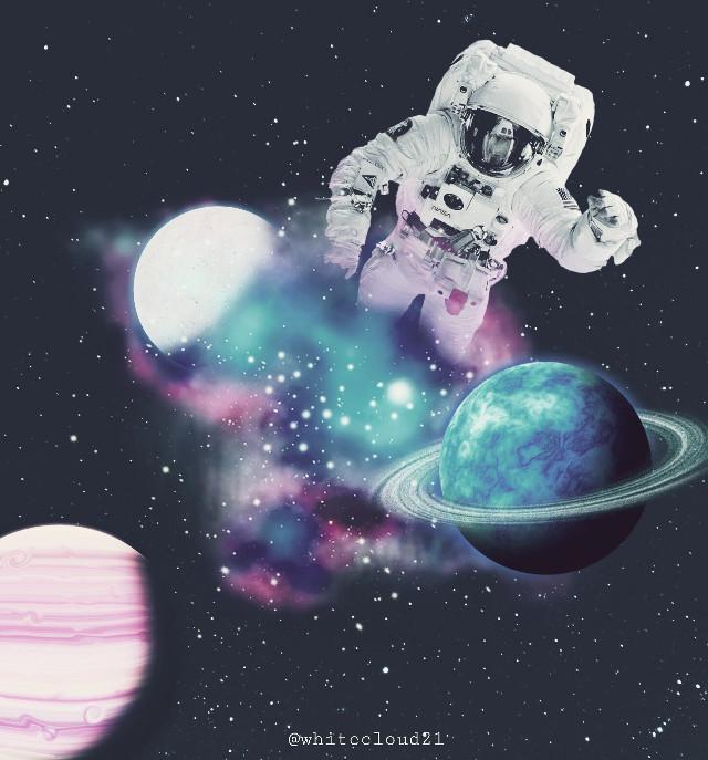 #galaxy #universe #astronaut #madewithpicsart#madebyme #editedbyme #stars #sky #planets @pa @freetoedit